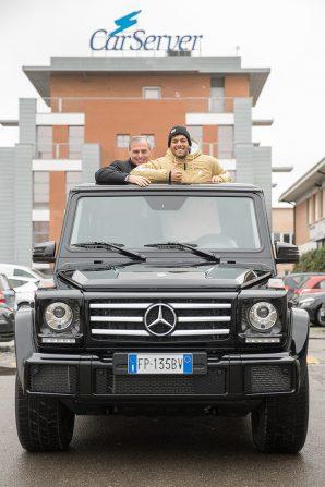Car Server, una jeep Mercedes per Gregorio Paltrinieri