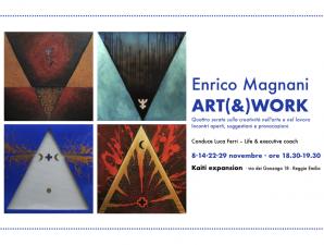 Arte e creatività, quattro incontri con Enrico Magnani